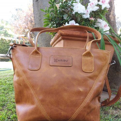 Maribu Leather Athena handbag