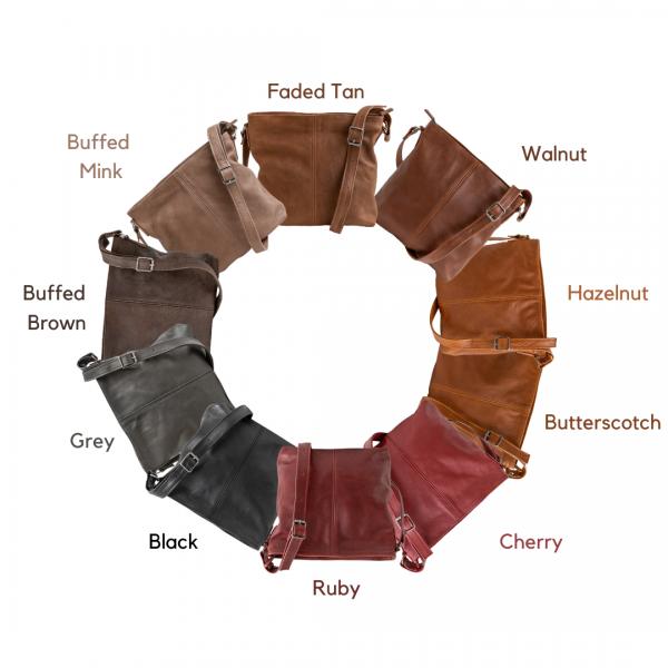 Maribu Leather Crossbody Bag
