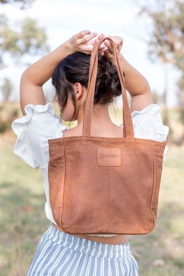 Maribu Leather MJ Handbag