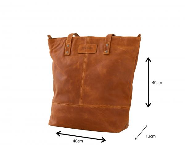 Maribu Leather Stephanie Shopper