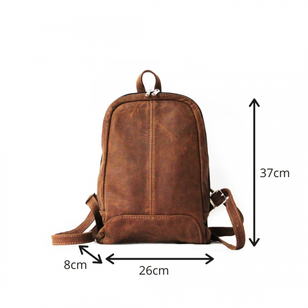 Maribu Leather Olga Backpack