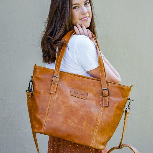Maribu Leather Ava Handbag