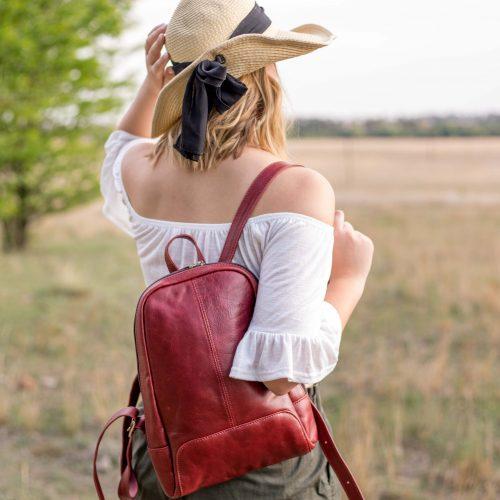 Maribu Genuine Leather Olga Backpack