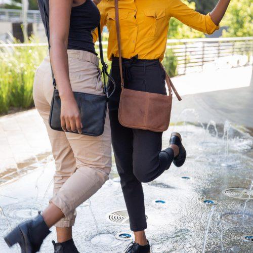 Maribu Genuine Leather Zyra Crossbody Bag